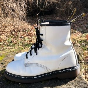 Dr Martens Made in England White Stitching ♥️♥️♥️